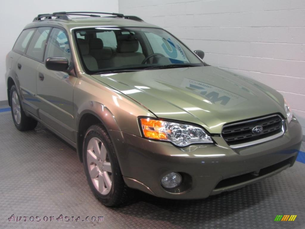 Don Wood Athens >> 2007 Subaru Outback 2.5i Wagon in Willow Green Opal ...