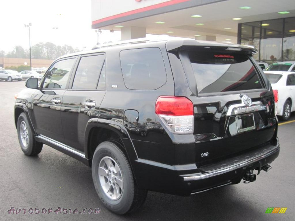 2011 toyota 4runner sr5 in black photo 3 019461 autos of asia japanese and korean cars. Black Bedroom Furniture Sets. Home Design Ideas