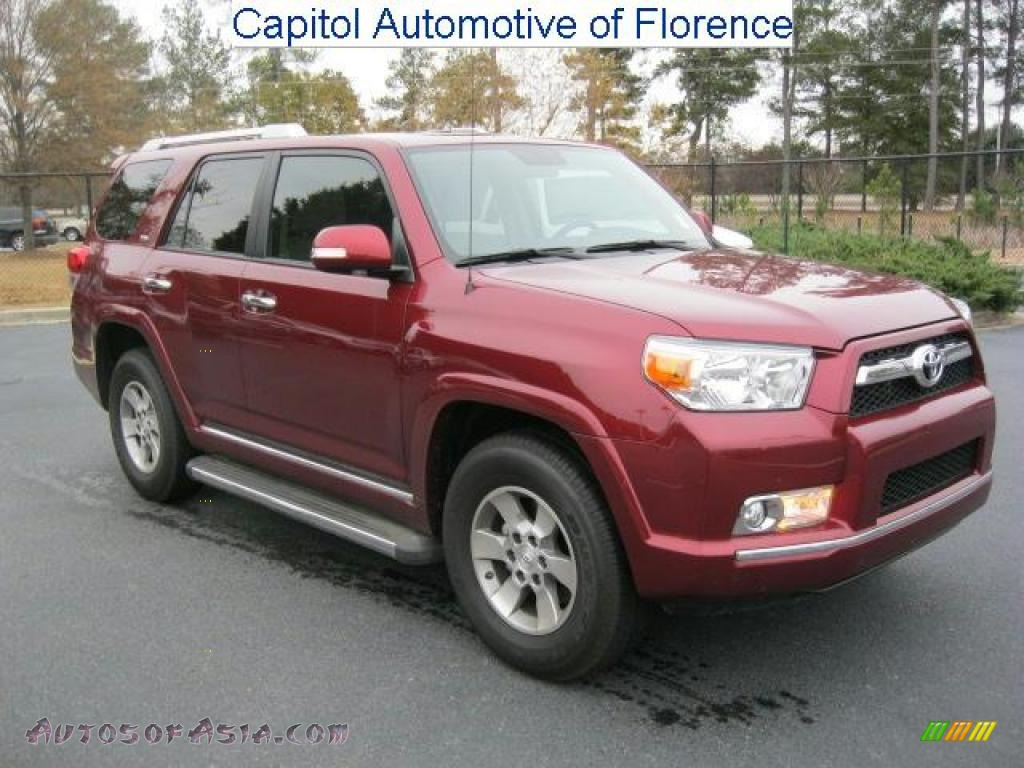2010 Toyota 4runner Sr5 In Salsa Red Pearl 004252 Autos Of Asia Japanese And Korean Cars For Sale In The Us