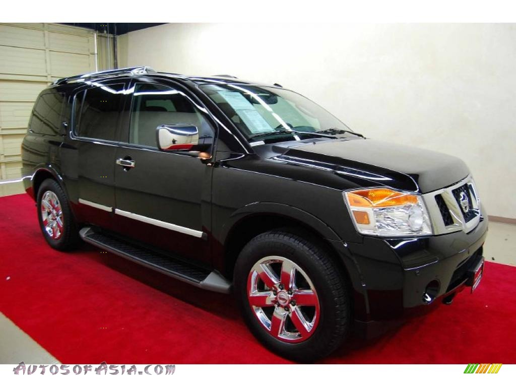 2010 nissan armada platinum in galaxy black metallic 607784 autos of asia japanese and. Black Bedroom Furniture Sets. Home Design Ideas