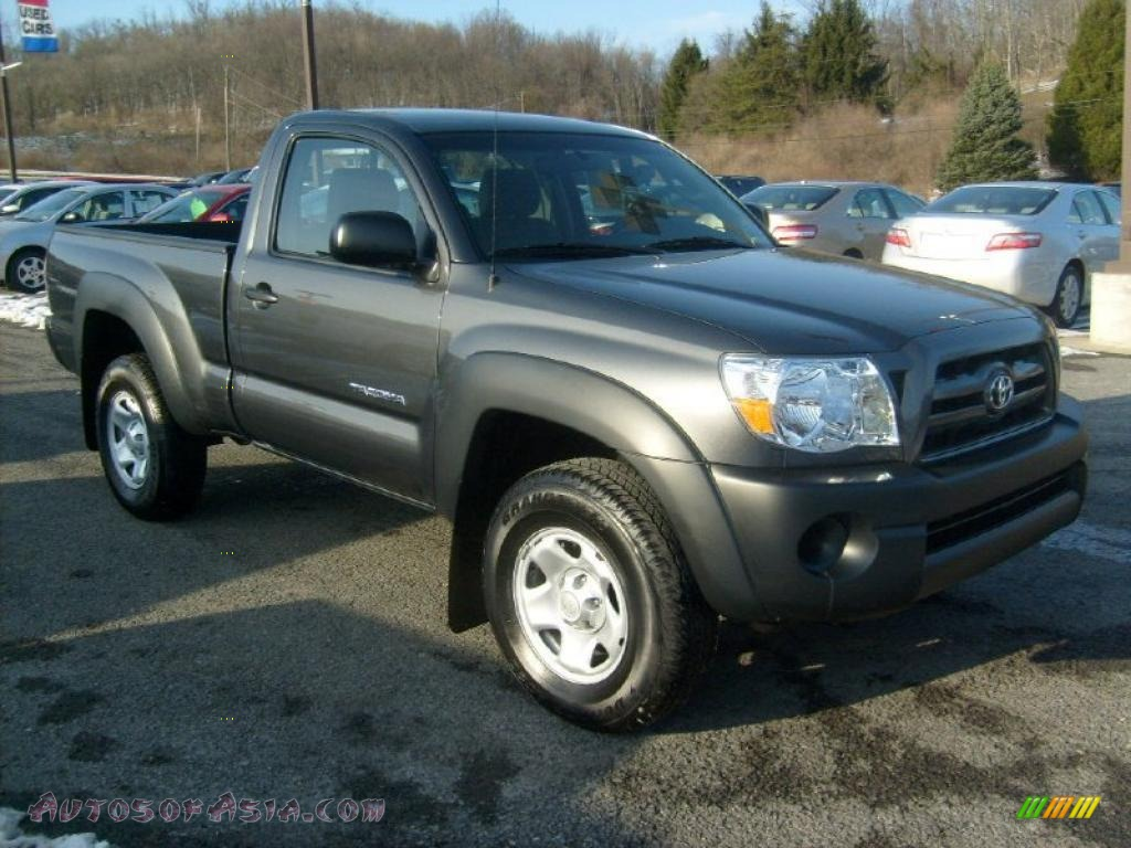 2010 toyota tacoma regular cab 4x4 in magnetic gray metallic 703048 autos of asia japanese. Black Bedroom Furniture Sets. Home Design Ideas