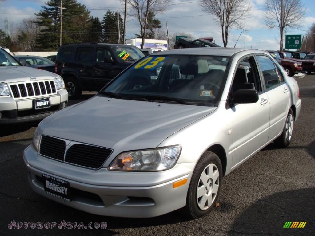 2003 mitsubishi lancer es in munich silver metallic 103550 autos of asia japanese and. Black Bedroom Furniture Sets. Home Design Ideas