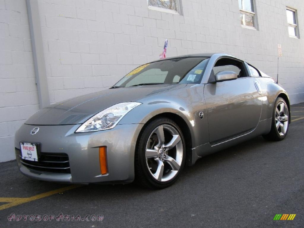 2006 Nissan 350z Touring Coupe In Silverstone Metallic - 352338