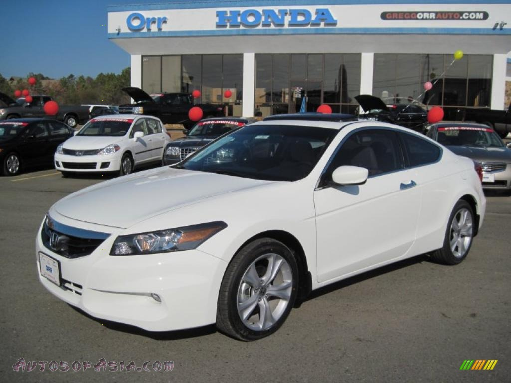 2011 Honda Accord Ex L V6 Coupe In Taffeta White 003098
