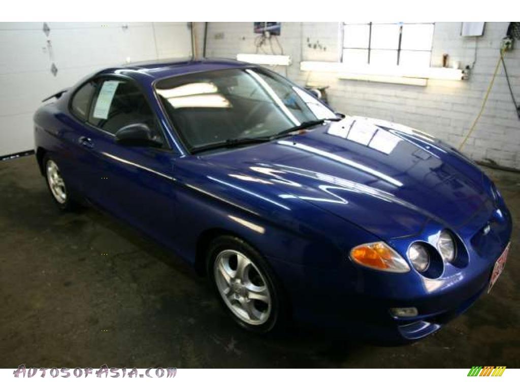 2000 Hyundai Tiburon In Cobalt Blue 190740 Autos Of