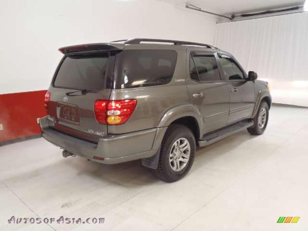 2003 toyota sequoia limited 4wd in phantom gray pearl photo 4 169151 autos of asia. Black Bedroom Furniture Sets. Home Design Ideas