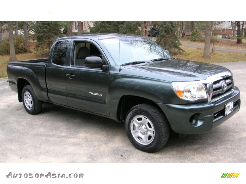 2009 toyota tacoma sr5 access cab in timberland green mica 664230 autos of asia japanese. Black Bedroom Furniture Sets. Home Design Ideas
