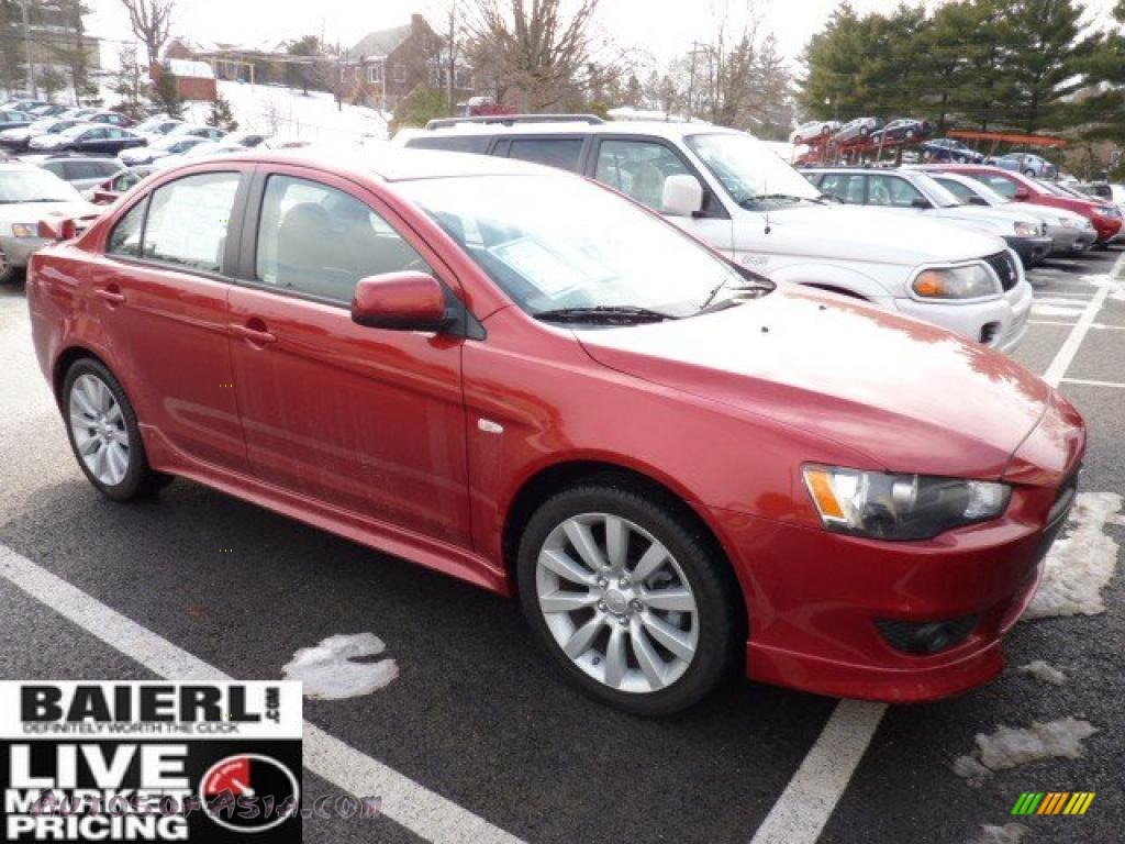 2009 Mitsubishi Lancer Gts In Rally Red Pearl 012899 Autos Of Asia Japanese And Korean
