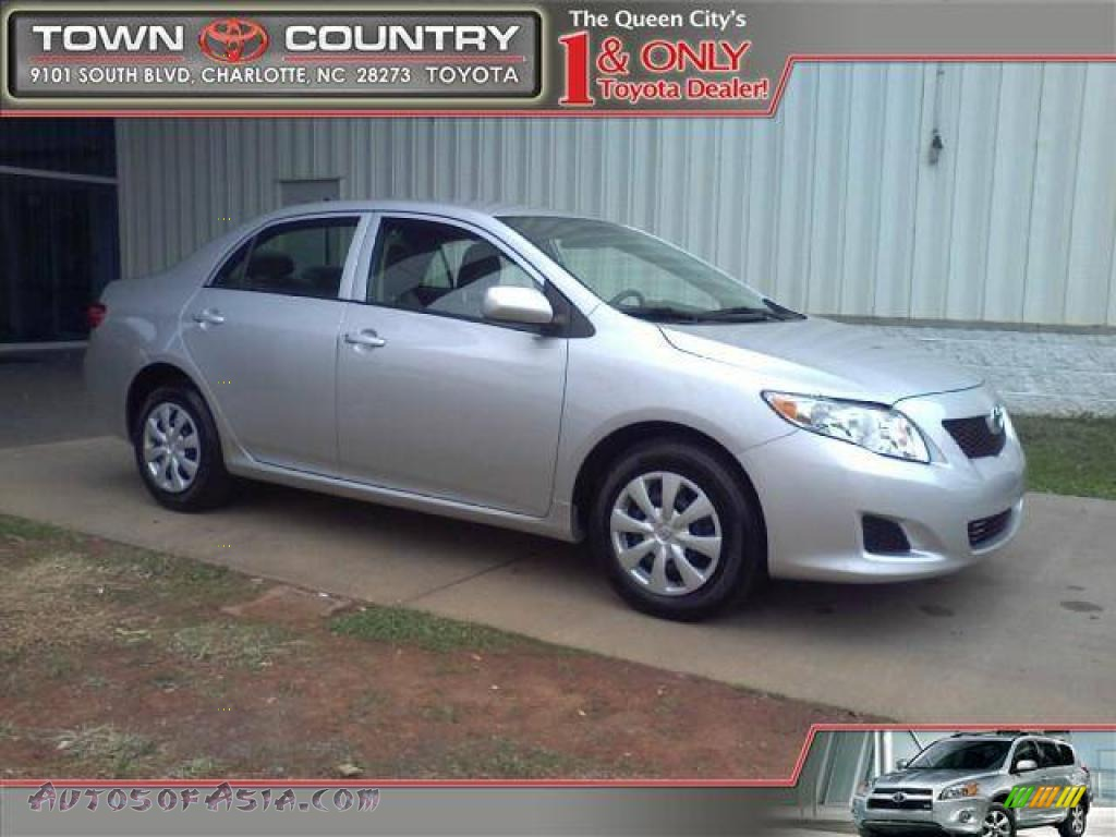 2009 toyota corolla le in classic silver metallic photo 9 062679 autos of asia japanese. Black Bedroom Furniture Sets. Home Design Ideas