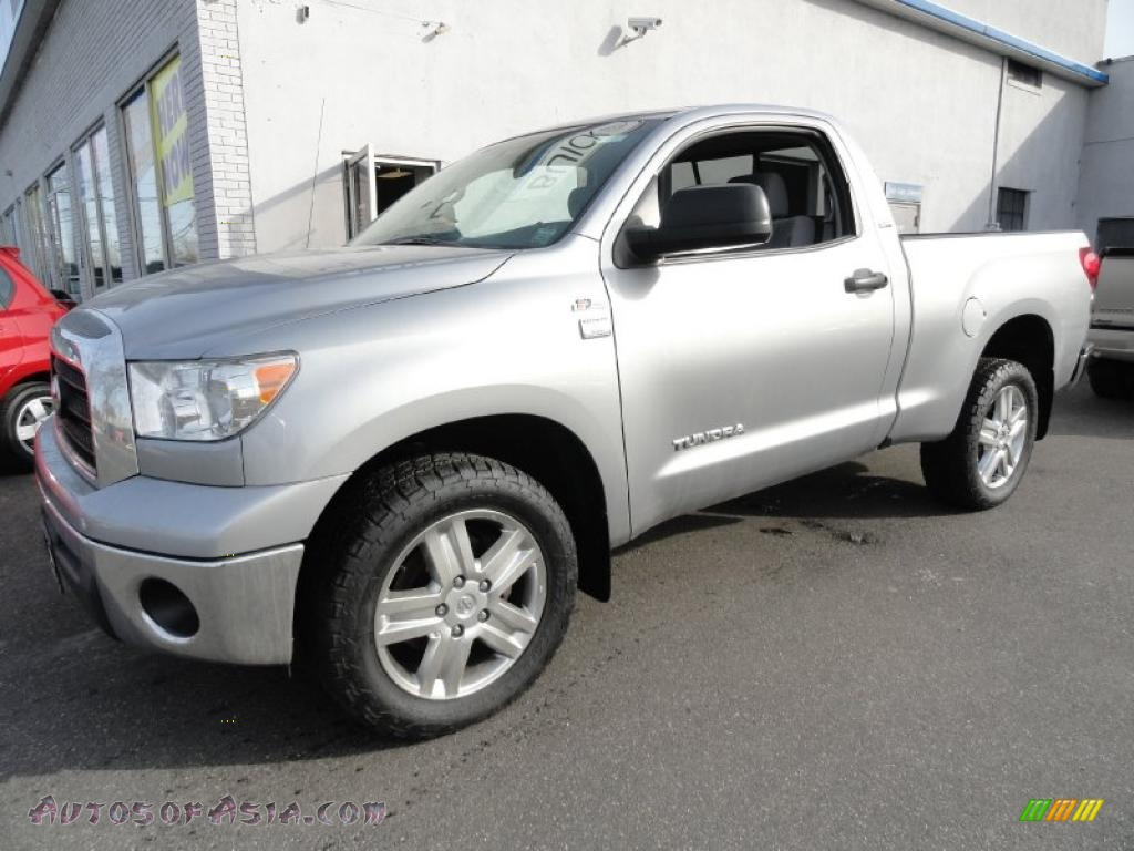 2007 toyota tundra sr5 regular cab 4x4 in silver sky metallic 001065 autos of asia. Black Bedroom Furniture Sets. Home Design Ideas