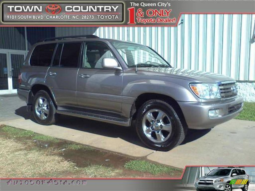 2006 toyota land cruiser in galactic gray pearl 090954. Black Bedroom Furniture Sets. Home Design Ideas