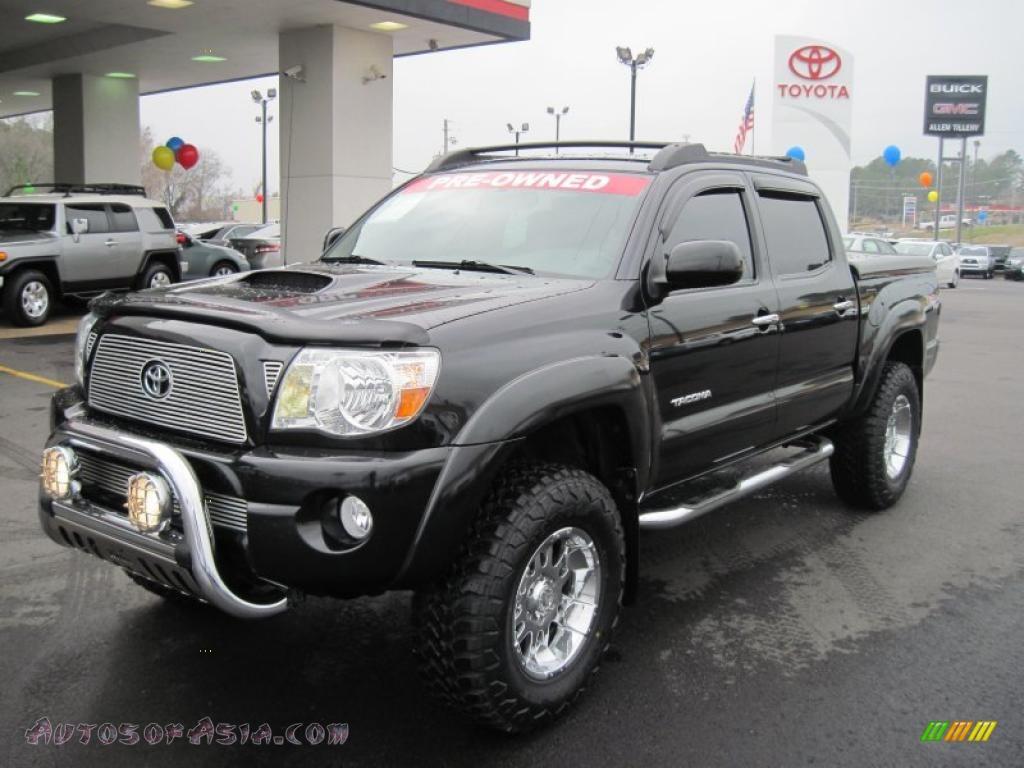 2014 Toyota Tacoma Double Cab Black Toyota tacoma v6 trd sport