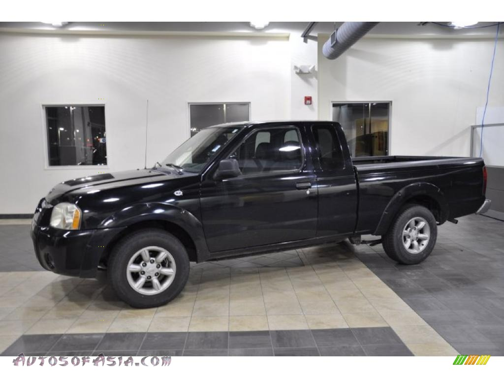 2004 nissan frontier xe king cab in super black 402203 autos of asia japanese and korean. Black Bedroom Furniture Sets. Home Design Ideas