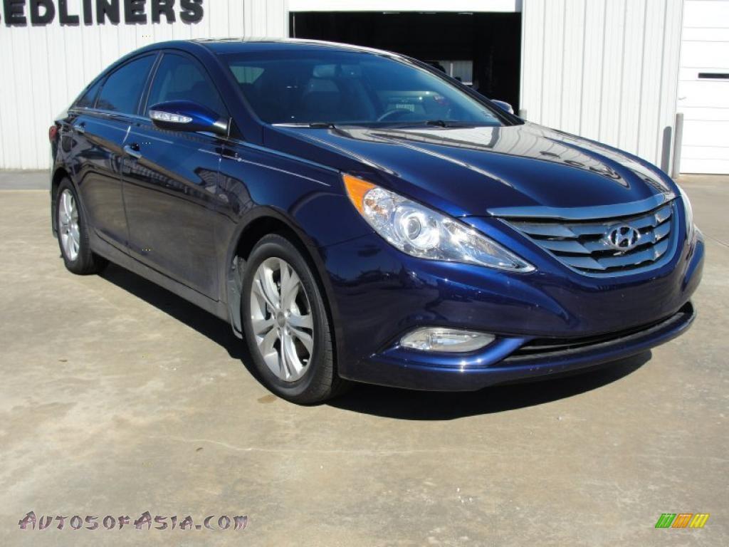 2011 Hyundai Sonata Limited In Indigo Blue Pearl 156510 Autos Of Asia Japanese And Korean