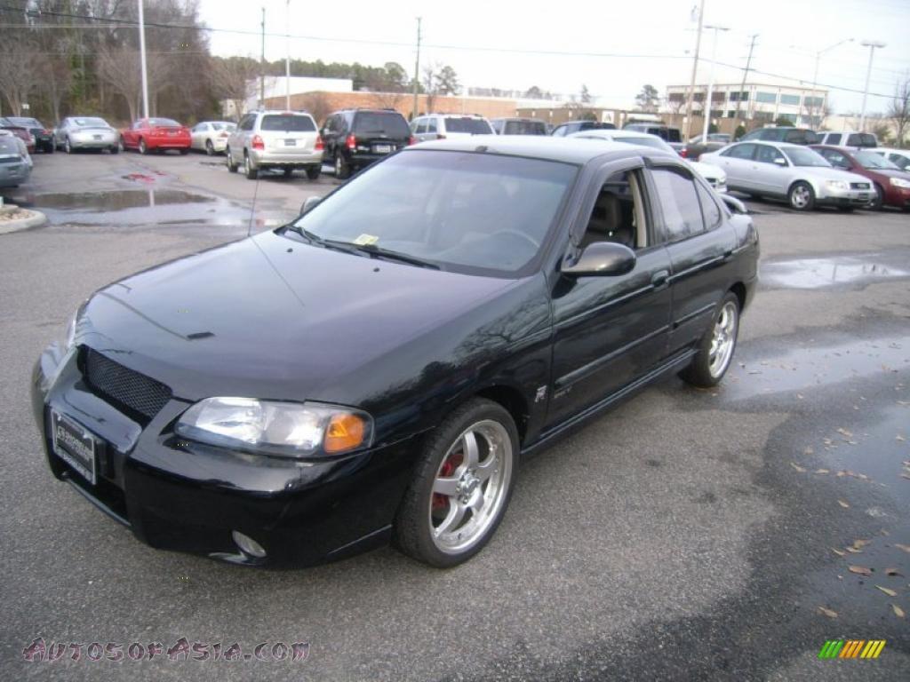 2003 Nissan Sentra Black 200 Interior And Exterior Images