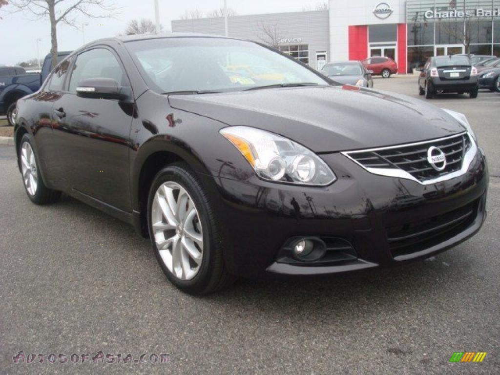 2010 nissan altima 3 5 sr coupe in crimson black 103105 autos of asia japanese and korean. Black Bedroom Furniture Sets. Home Design Ideas