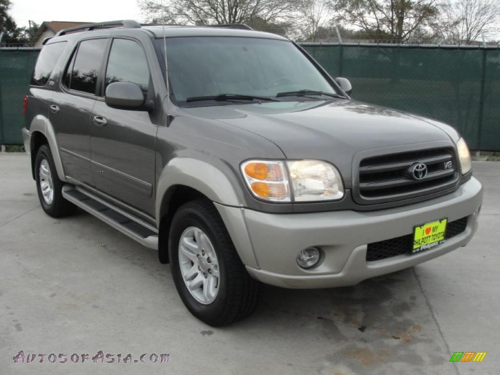 2004 toyota sequoia sr5 in phantom gray pearl 227804 autos of asia japanese and korean. Black Bedroom Furniture Sets. Home Design Ideas