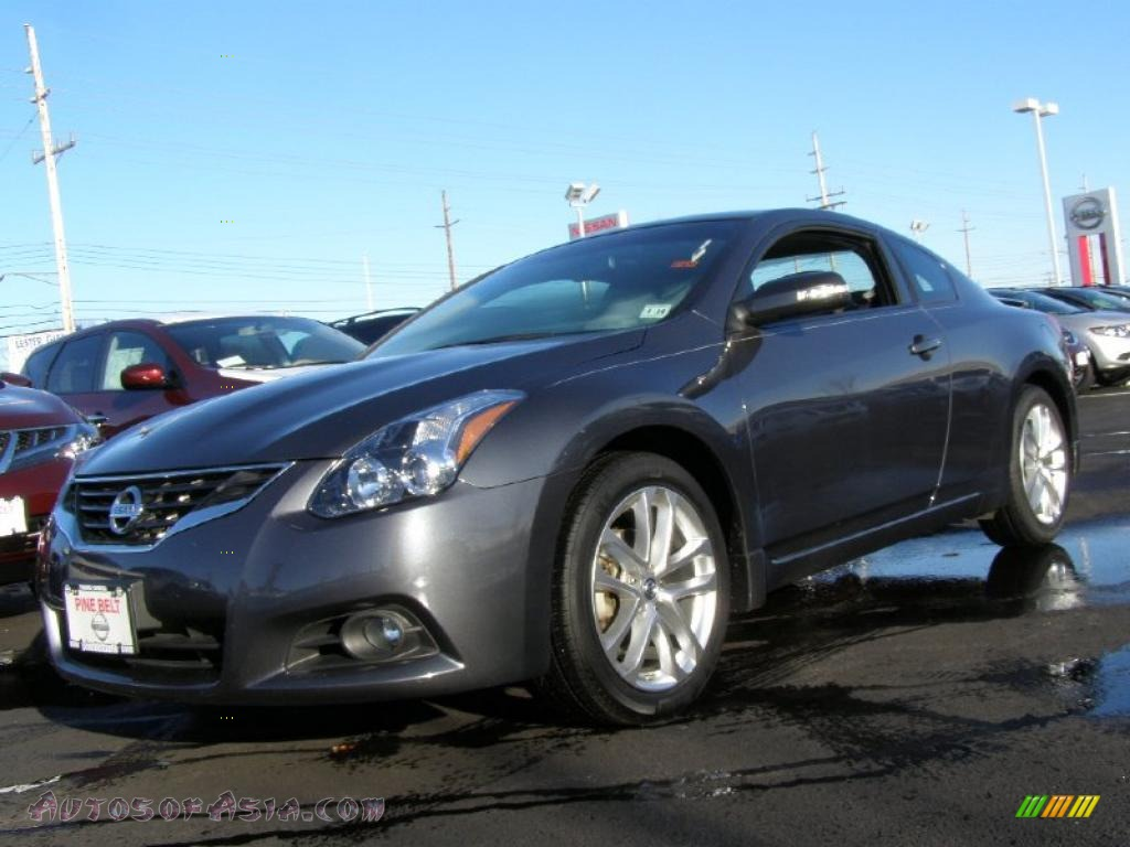 2010 nissan altima 3 5 sr coupe in dark slate 120029 autos of asia japanese and korean. Black Bedroom Furniture Sets. Home Design Ideas