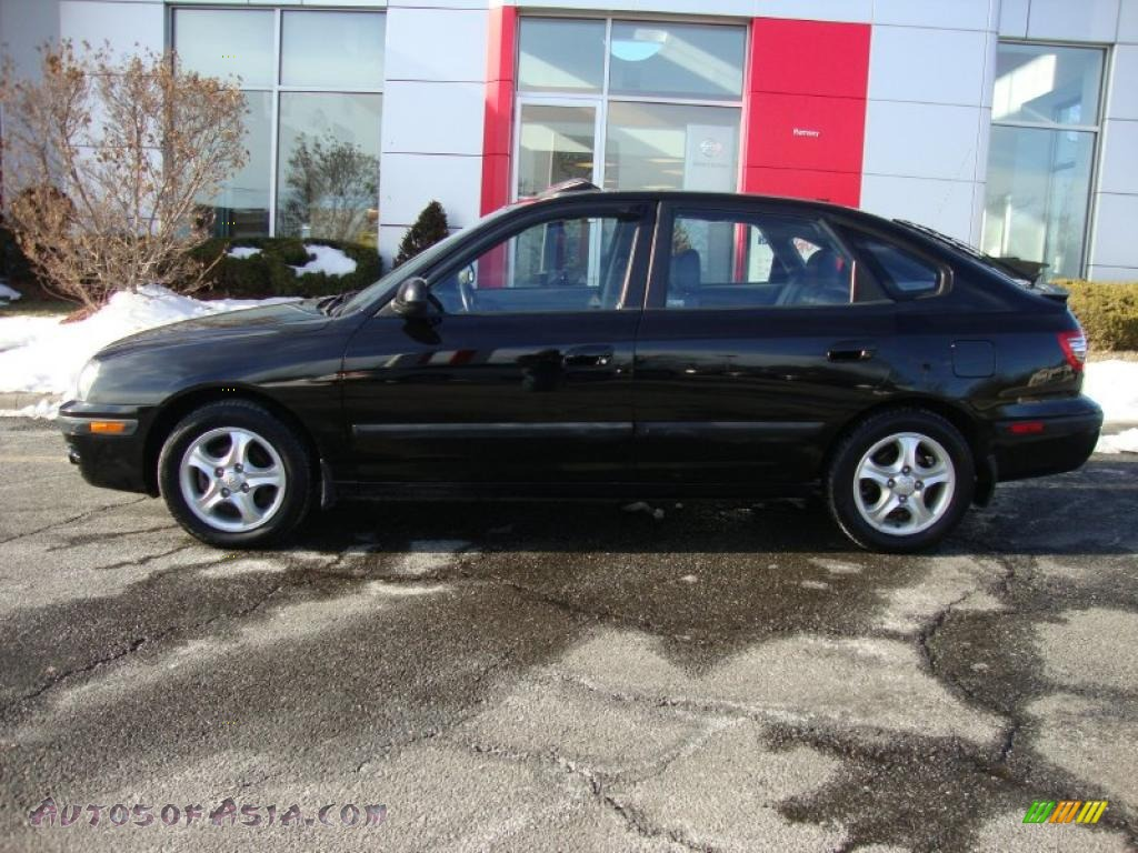 2005 hyundai elantra gt hatchback in black obsidian photo. Black Bedroom Furniture Sets. Home Design Ideas