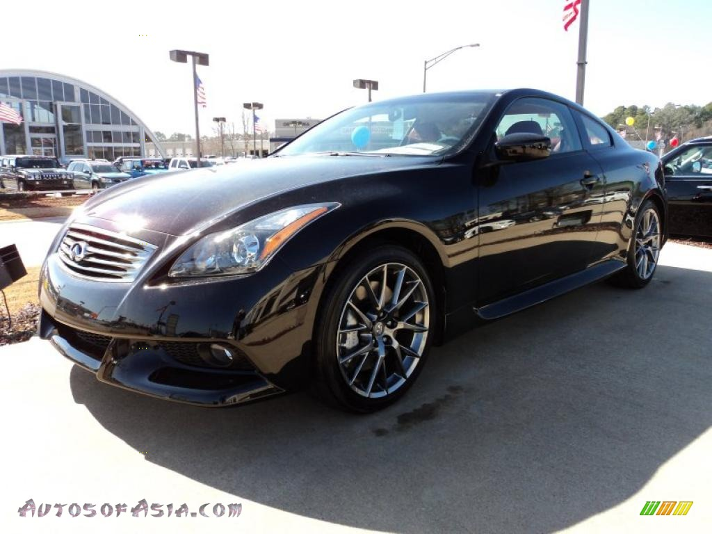 2011 G 37 IPL Coupe - Limited Malbec Black / Monaco Red photo #1