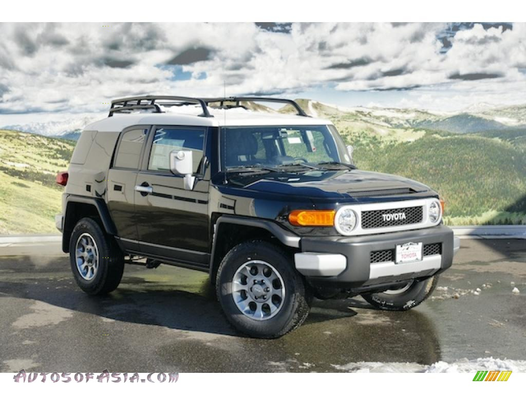 2011 Toyota Fj Cruiser 4wd In Black 101668 Autos Of