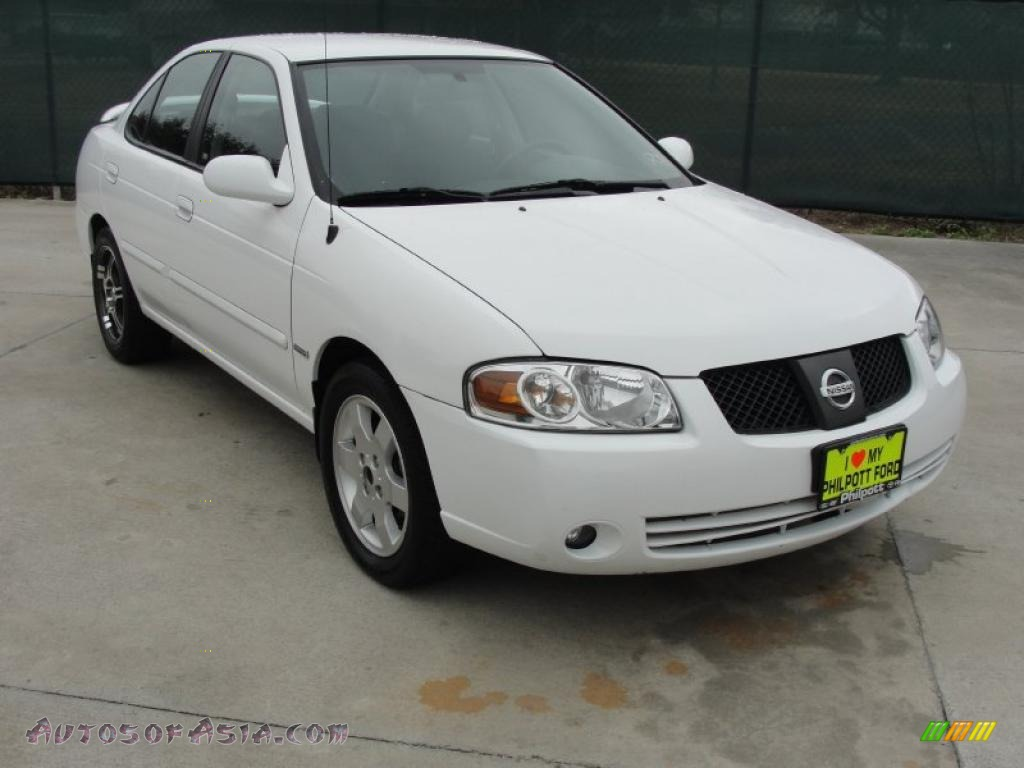 Cloud White / Sage Nissan Sentra 1.8 S Special Edition