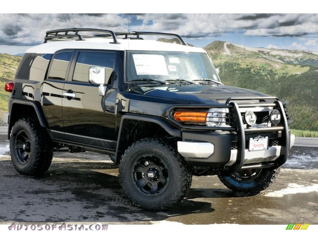 2011 Toyota FJ Cruiser 4WD in Black - 102714 | Autos of Asia ...