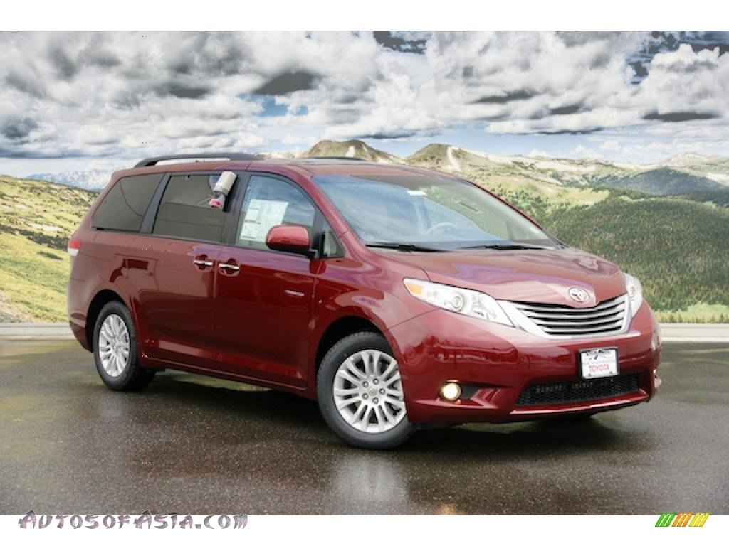 2011 Toyota Sienna Xle In Salsa Red Pearl 099840 Autos