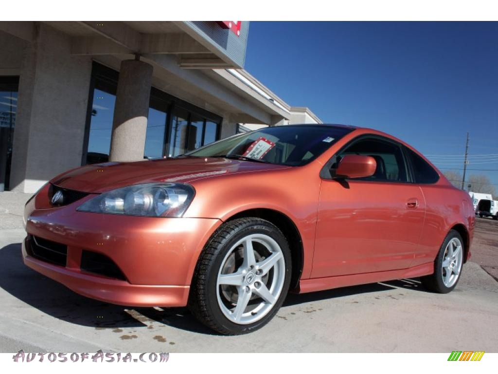 2006 acura rsx type s sports coupe in blaze orange. Black Bedroom Furniture Sets. Home Design Ideas