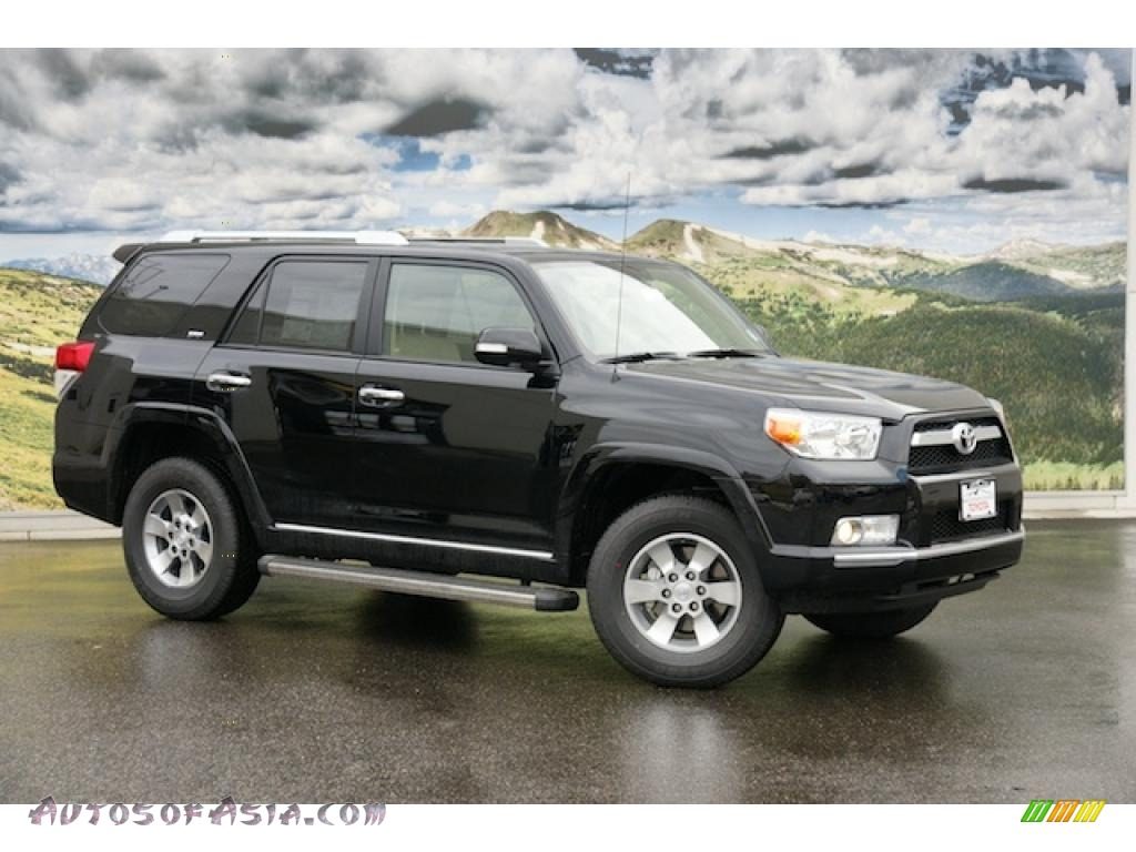 2011 toyota 4runner sr5 4x4 in black 042569 autos of asia japanese and korean cars for. Black Bedroom Furniture Sets. Home Design Ideas