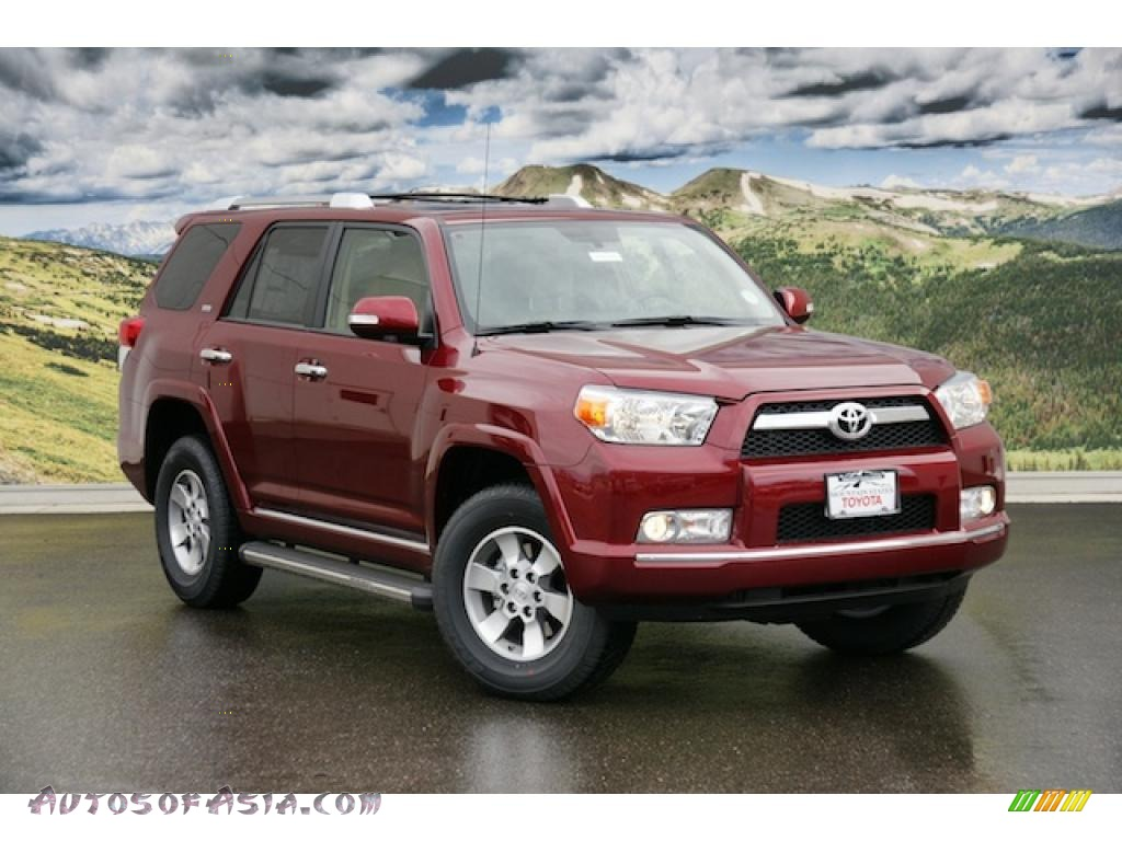 2011 toyota 4runner sr5 4x4 in salsa red pearl 052914 autos of asia japanese and korean. Black Bedroom Furniture Sets. Home Design Ideas