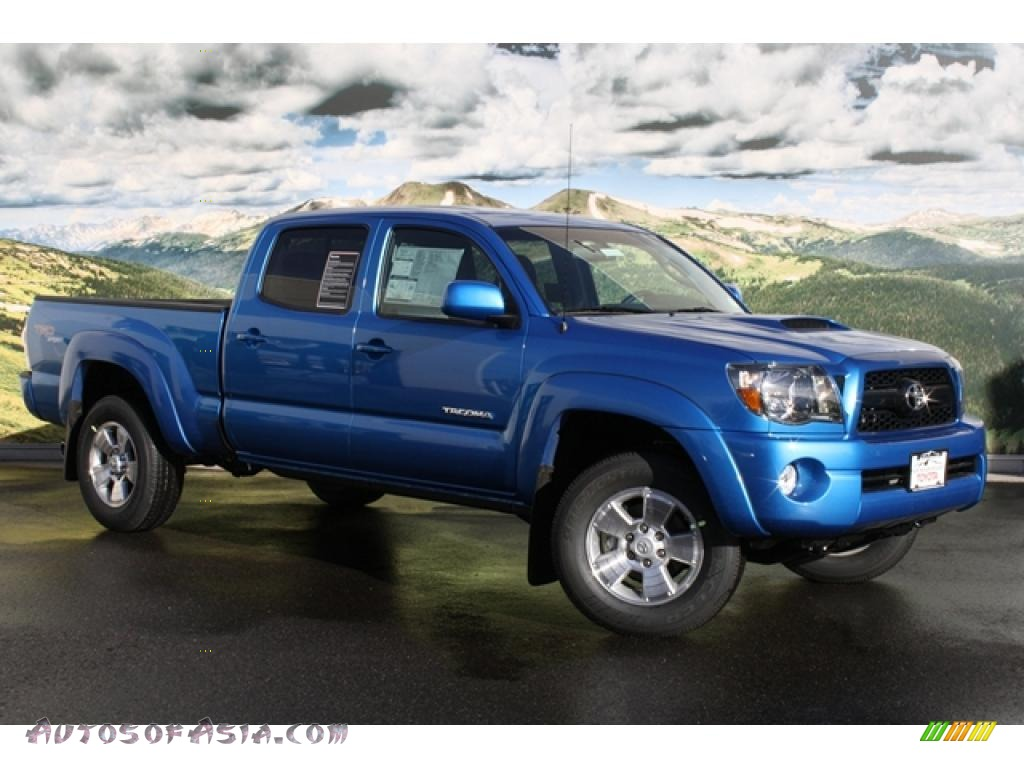 2011 toyota tacoma v6 trd sport double cab 4x4 in speedway blue 030429 autos of asia. Black Bedroom Furniture Sets. Home Design Ideas