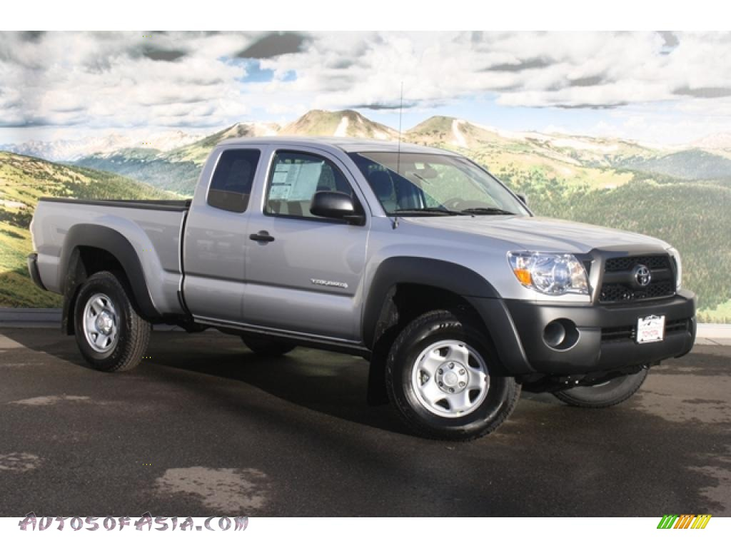2011 toyota tacoma access cab 4x4 in silver streak mica 005460 autos of asia japanese and. Black Bedroom Furniture Sets. Home Design Ideas