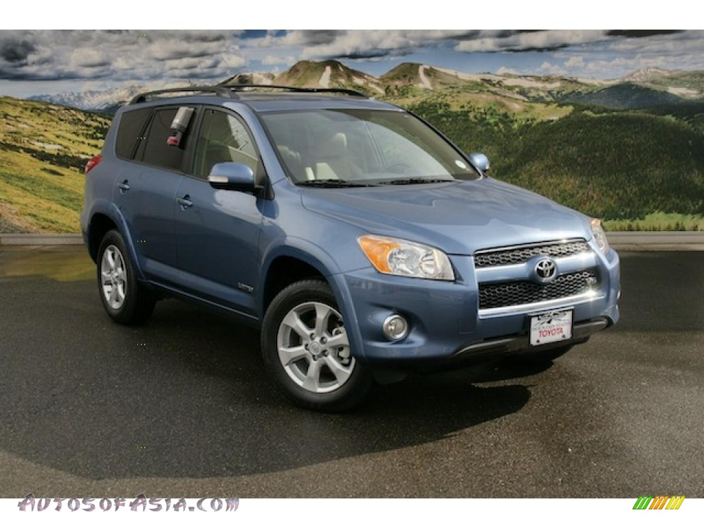 2011 toyota rav4 v6 limited 4wd in pacific blue metallic. Black Bedroom Furniture Sets. Home Design Ideas