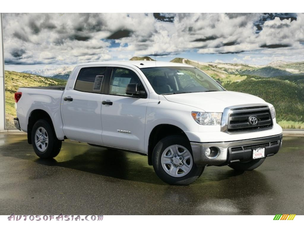 2011 toyota tundra sr5 crewmax 4x4 in super white 022546 autos of asia japanese and korean. Black Bedroom Furniture Sets. Home Design Ideas