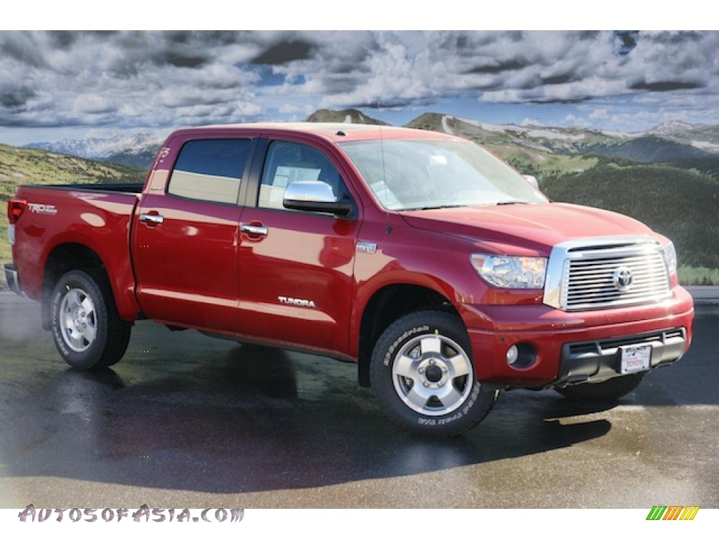 2011 Toyota Tundra Limited Crewmax 4x4 In Barcelona Red