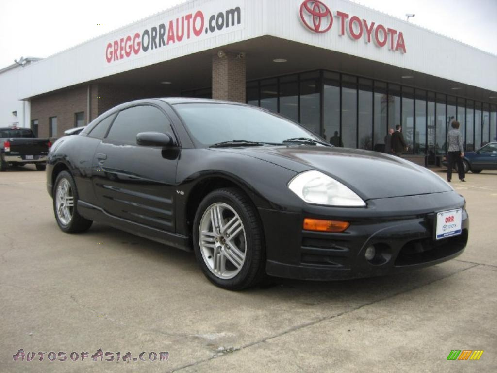 2003 Mitsubishi Eclipse Gt Coupe In Kalapana Black