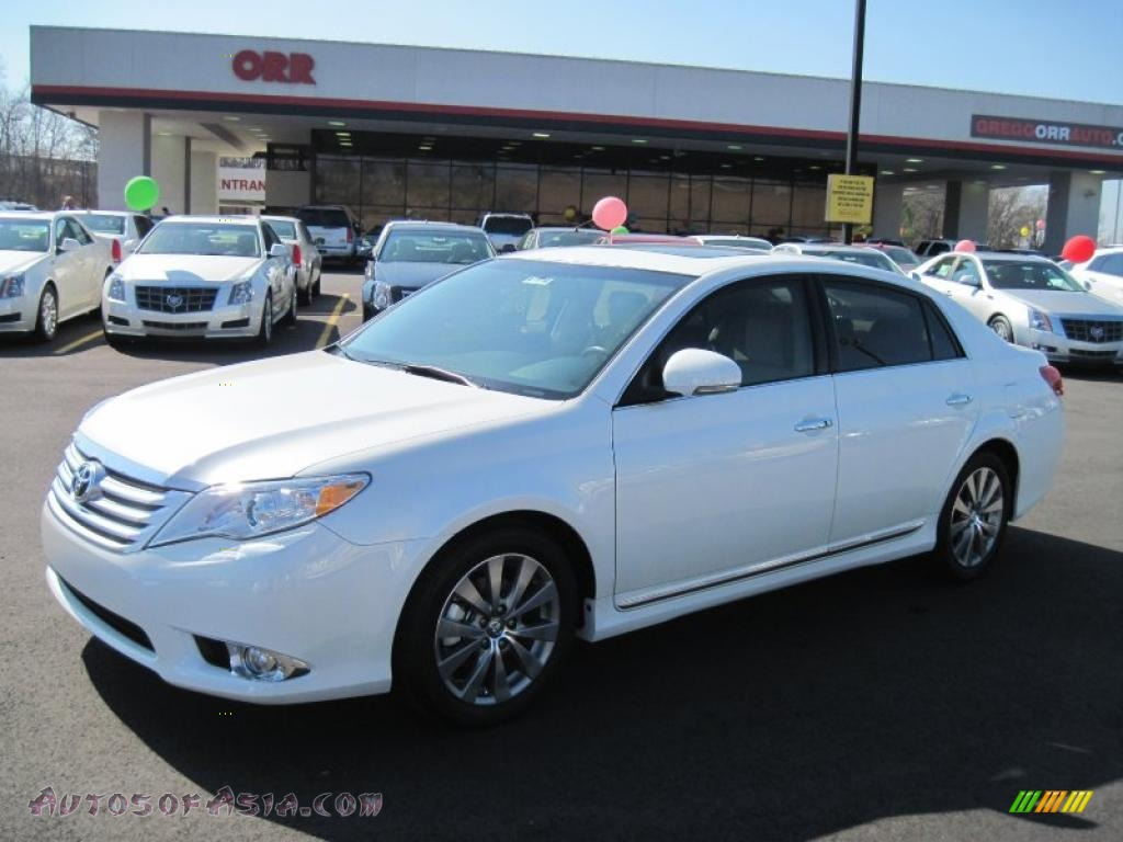 2011 toyota avalon limited in blizzard white pearl 409166 autos of asia japanese and. Black Bedroom Furniture Sets. Home Design Ideas