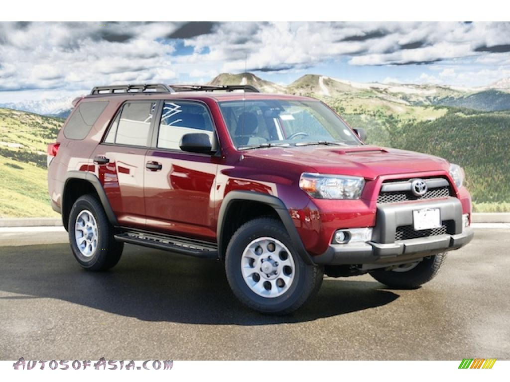 2011 toyota 4runner trail 4x4 in salsa red pearl 052692. Black Bedroom Furniture Sets. Home Design Ideas