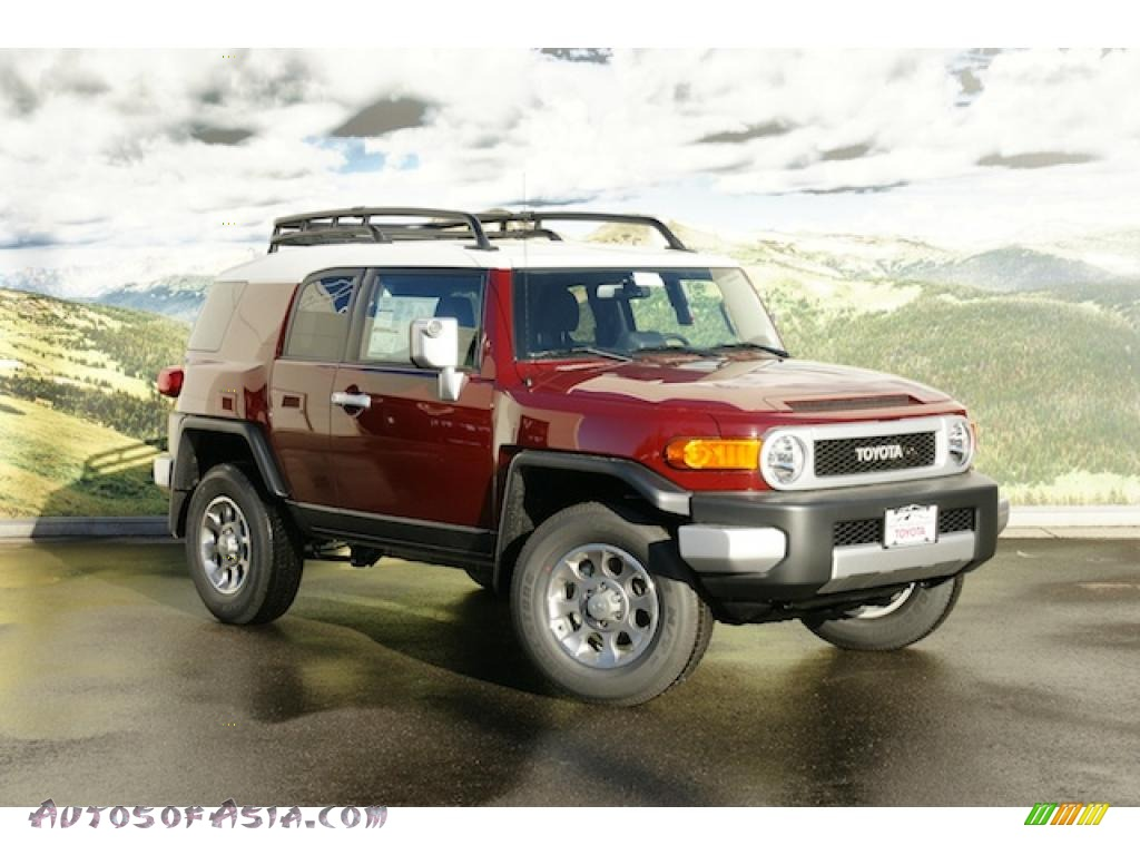 2011 Toyota FJ Cruiser 4WD in Brick Red - 103415 | Autos of Asia ...