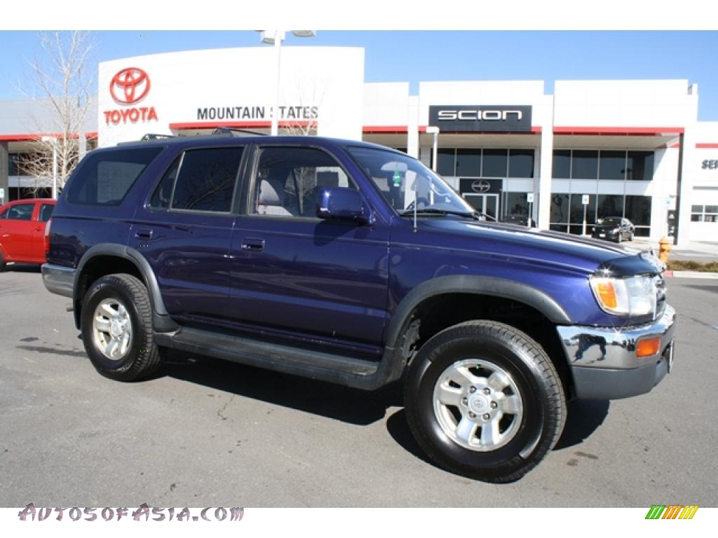 1997 toyota 4runner sr5 4x4 in stellar blue pearl metallic 109719 autos of asia japanese. Black Bedroom Furniture Sets. Home Design Ideas