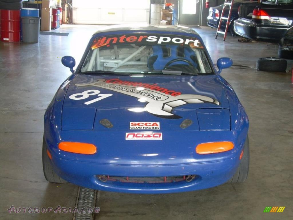 1991 mazda mx 5 miata race car in mariner blue photo 19 227815 autos of asia japanese and. Black Bedroom Furniture Sets. Home Design Ideas
