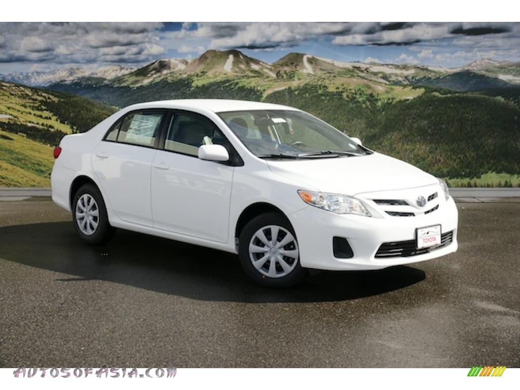 2011 Toyota Corolla White