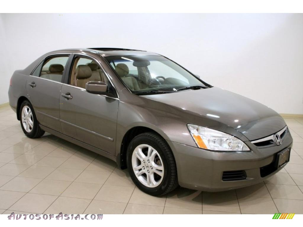 2007 Honda Accord Ex L Sedan In Carbon Bronze Pearl 020965 Autos Of Asia Japanese And