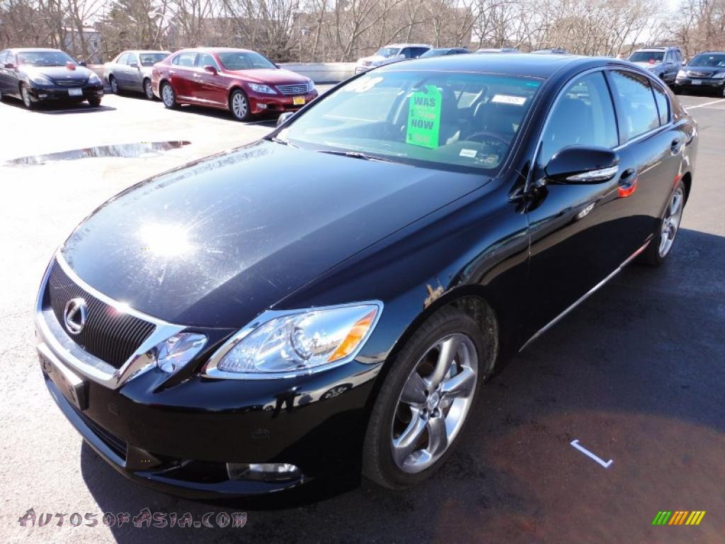 2008 lexus gs 460 in obsidian black photo 5 001169 autos of asia japanese and korean cars. Black Bedroom Furniture Sets. Home Design Ideas