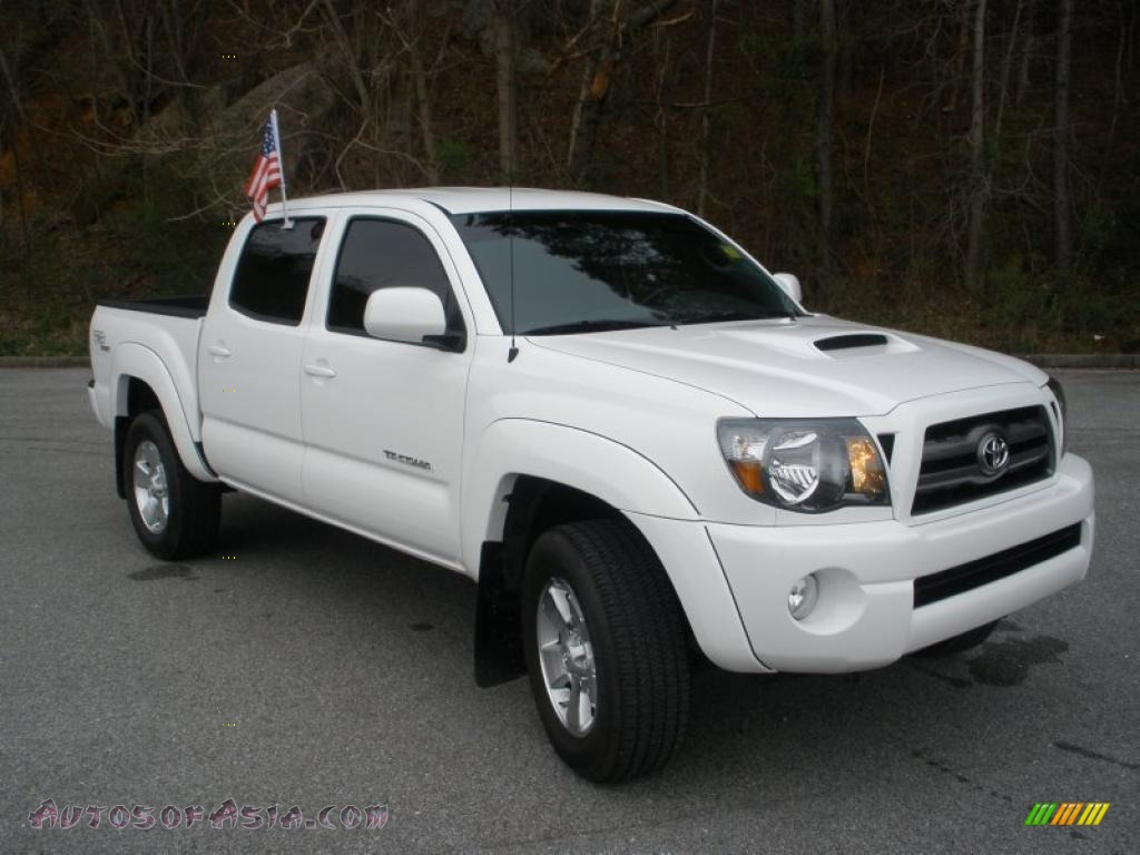 2010 toyota tacoma v6 sr5 trd sport double cab 4x4 in super white 686432 autos of asia. Black Bedroom Furniture Sets. Home Design Ideas