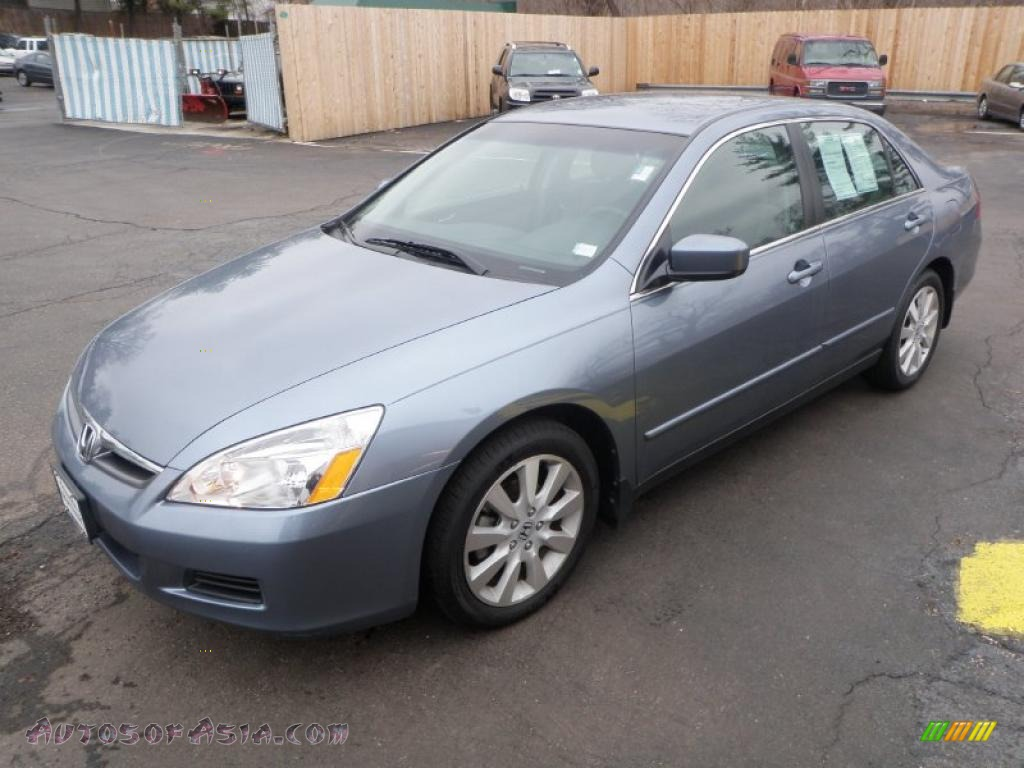 2007 honda accord se v6 sedan in cool blue metallic 067514 autos of asia japanese and. Black Bedroom Furniture Sets. Home Design Ideas