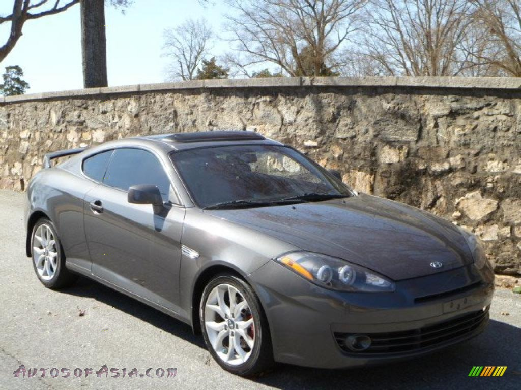 2007 hyundai tiburon gt in carbon gray 245458 autos of. Black Bedroom Furniture Sets. Home Design Ideas