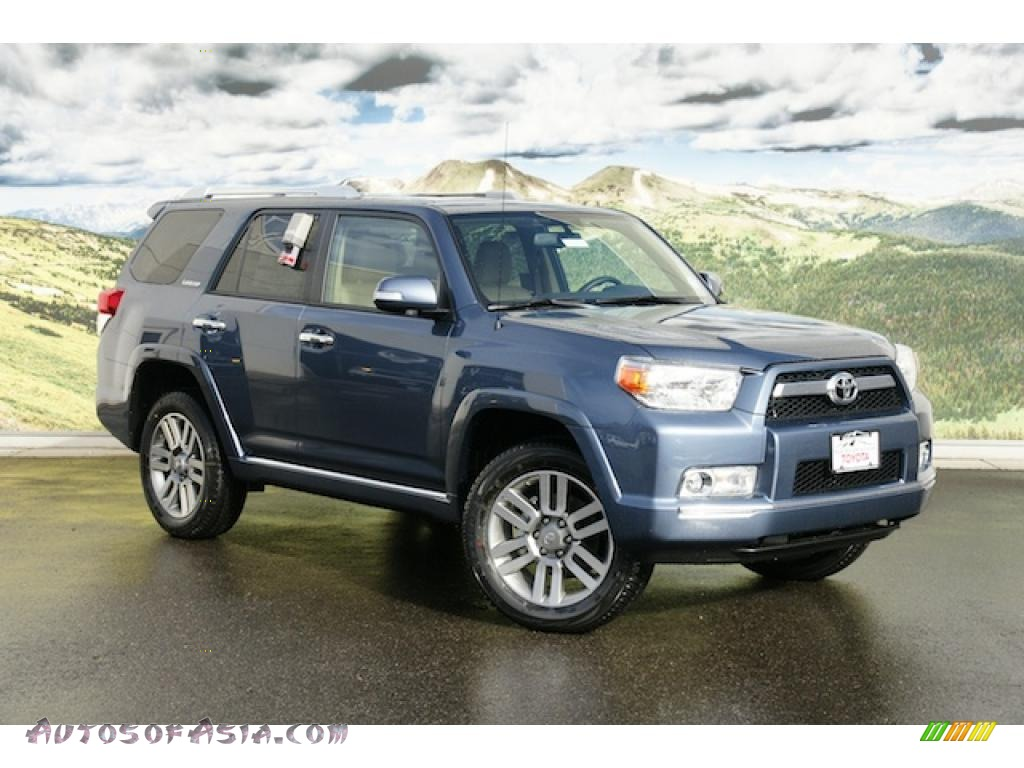 2011 Toyota 4runner Limited 4x4 In Shoreline Blue Pearl