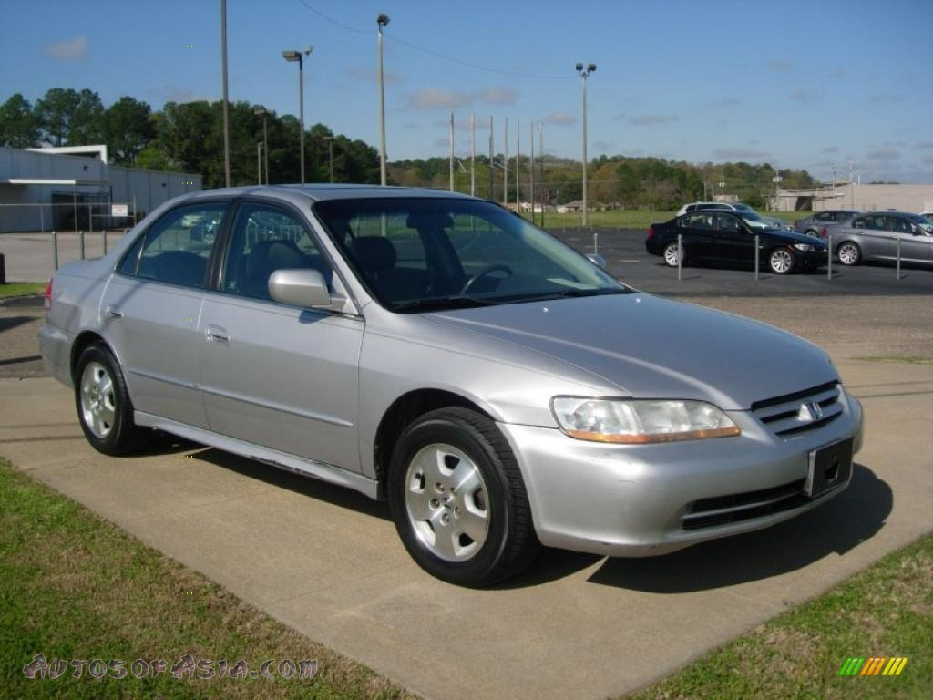 2002 honda accord ex v6 sedan in satin silver metallic 078800 autos of asia japanese and. Black Bedroom Furniture Sets. Home Design Ideas